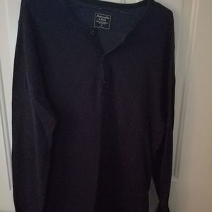 Abercrombie thermal shirt
